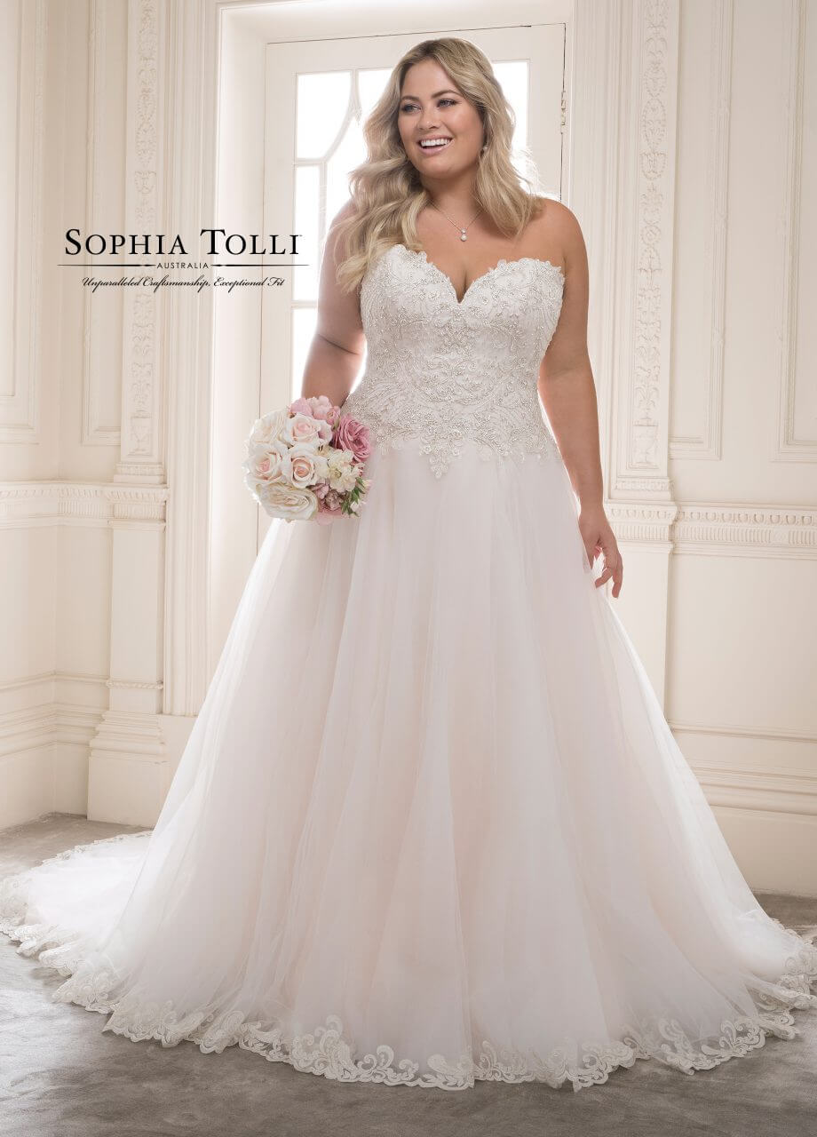 Sophia Tolli - Morganite Y21816-Plus